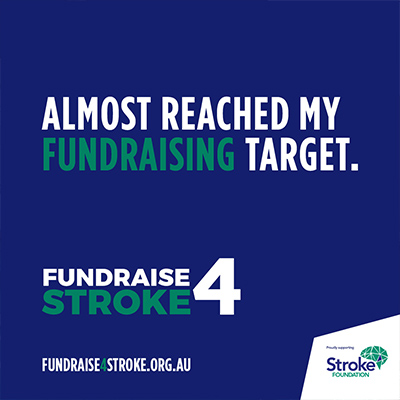 Fundraise 4 Stroke IG Blue